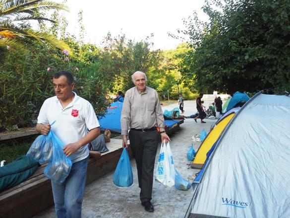 Refugee crisis Fr Malcolm