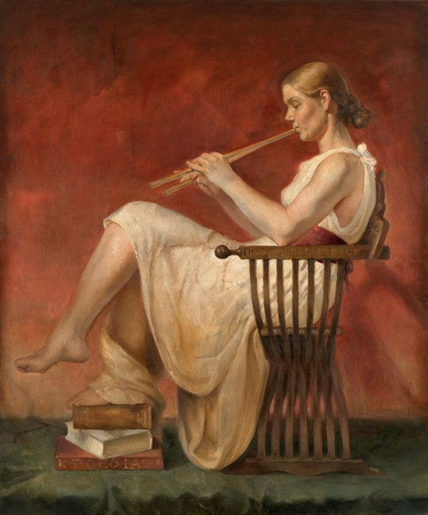 Euterpe (muse)-helene-knoop-1979