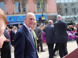Prince Philip in Leeds 2012