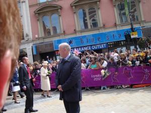 Queen Elizabeth in Leeds 2012