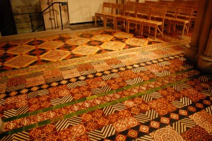 Tiled floor in Christ Church Cathedral 1024x621