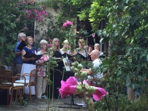 Athens Singers at Jill's