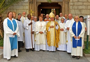 Ordination-Chris and the array of clergy