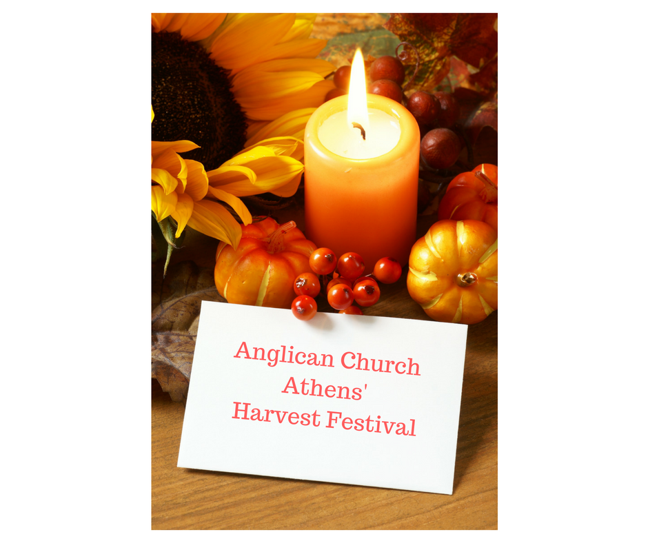 Anglican Church Athens Harvest Festival