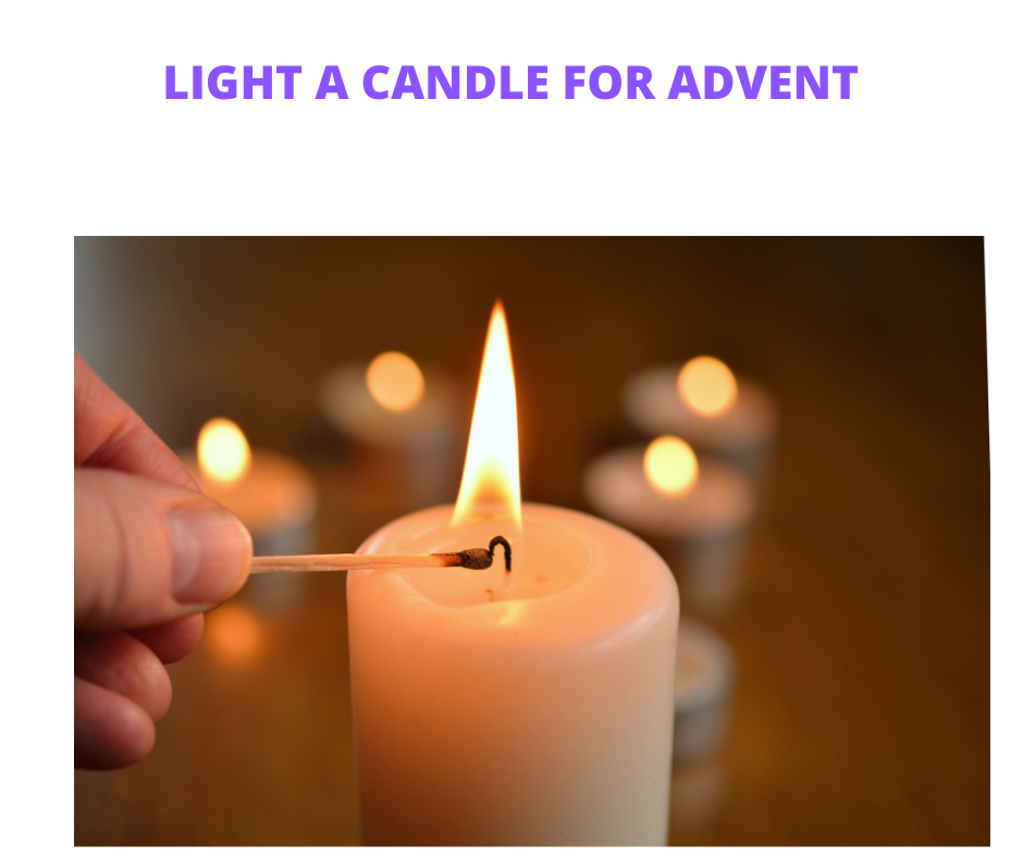 Light a candle for Advent