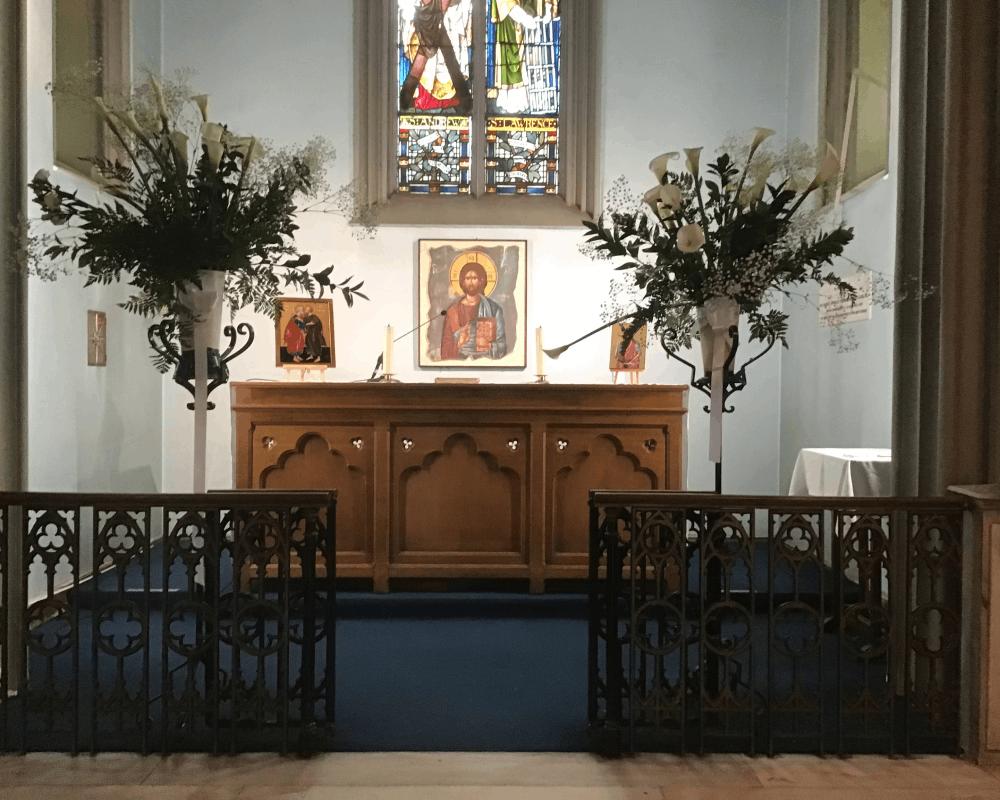 Lilies Altar