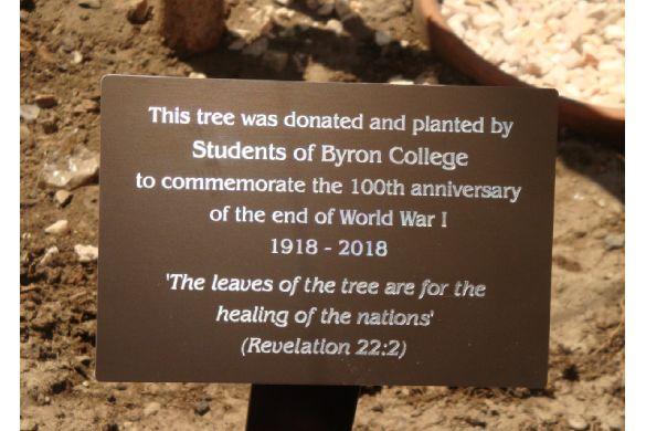 tree plaque gal